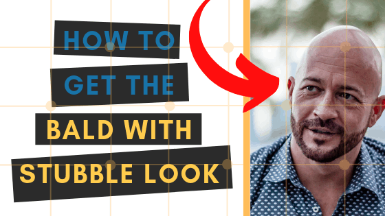 everything you need to know about the bald with stubble look