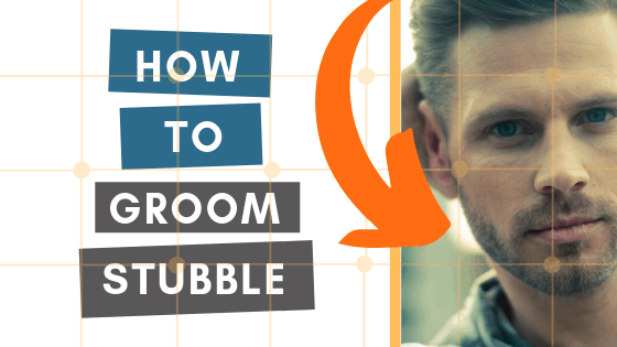 how to groom stubble
