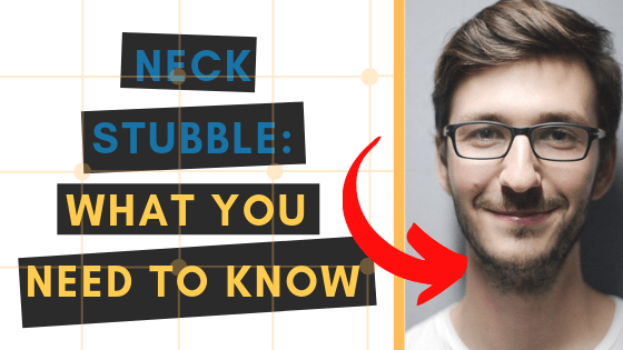 neck stubble guide - trimming, shaving and more