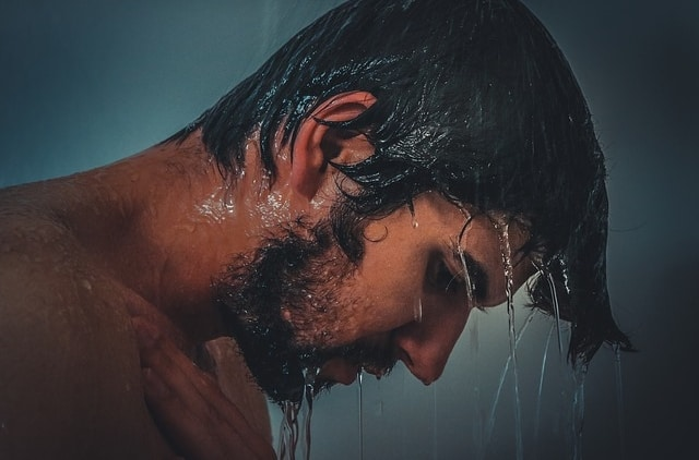 should you brush your beard in the shower