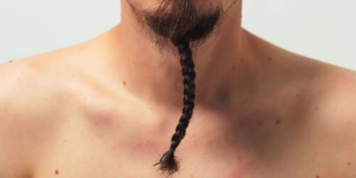 How To Braid A Long Goatee