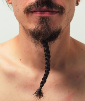 how to braid a goatee example