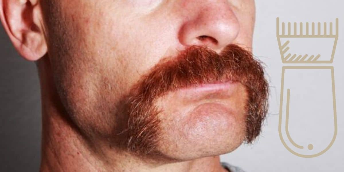 How To Trim A Mustache With Clippers Like A Boss Image