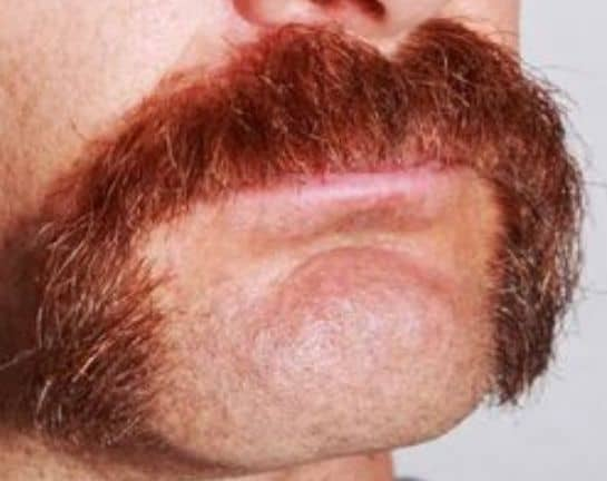 electric trimmer mustache cut