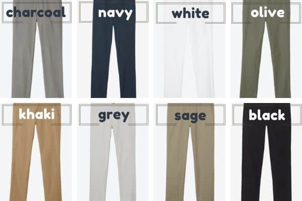 Bonobos 8 neutral chino colors