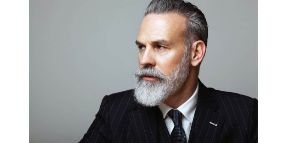 How To Dye Your Beard Grey (Without Staining)