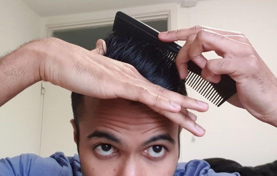 How to properly comb through murrays pomade