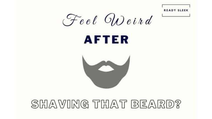 Look Weird After Shaving Your Beard Or Mustache? Do This