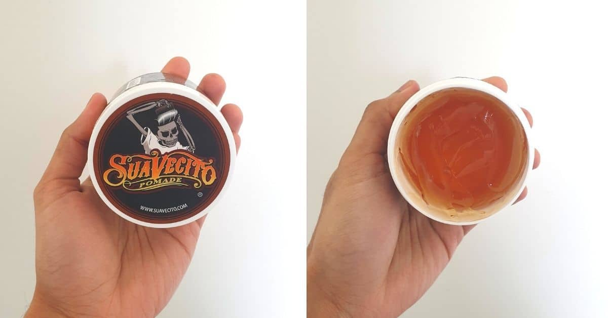 Suavecito packaging and product